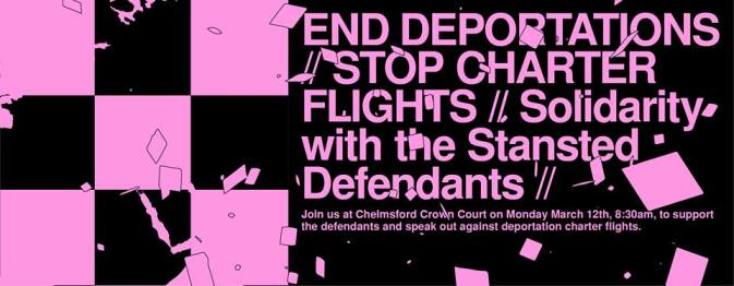 solidarity with stansted 15